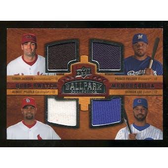 2008 Upper Deck Ballpark Collection #211 Conor Jackson Prince Fielder Albert Pujols Derrek Lee