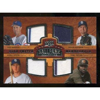 2008 Upper Deck Ballpark Collection #215 Greg Maddux Trevor Hoffman Khalil Greene Tony Gwynn