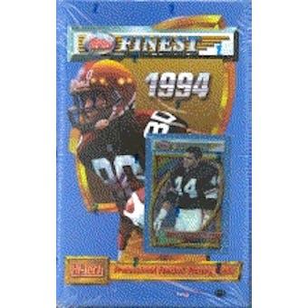 1994 Topps Finest Football Hobby Box