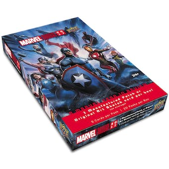 Marvel Annual Trading Cards 12-Box Case (Upper Deck 2017)