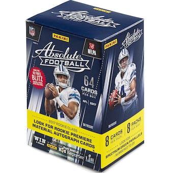 2017 Panini Absolute Football 8-Pack Blaster Box