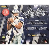 2017 Panini Absolute Football Mega Box