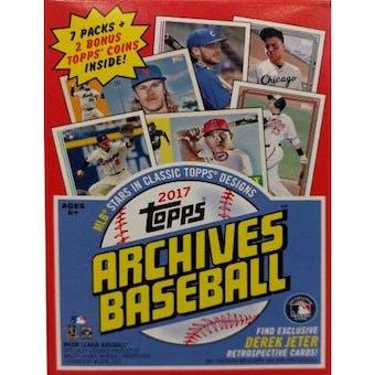 2017 Topps Archives Baseball 7-Pack Blaster Box