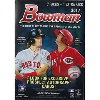 2017 Bowman Baseball 8-Pack Blaster Box