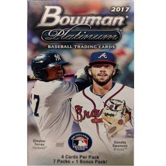 2017 Bowman Platinum Baseball 8-Pack Blaster Box