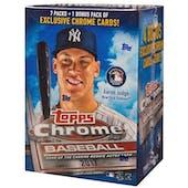 2017 Topps Chrome Baseball 8-Pack Blaster Box