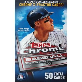 2017 Topps Chrome Baseball Monster Box