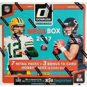 2017 Panini Donruss Football Mega Box