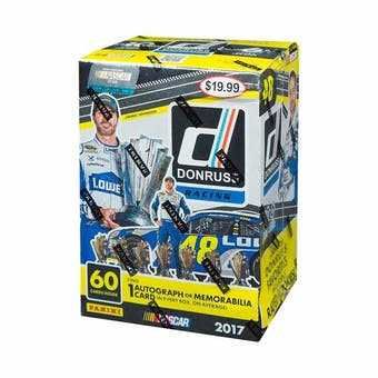 2017 Panini Donruss Racing 6-Pack Blaster Box
