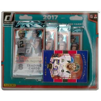 2017 Panini Donruss Football Sealed 4-Pack Blister