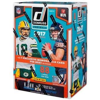 2017 Panini Donruss Football 11-Pack Blaster Box
