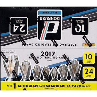 2017 Panini Donruss Racing 24-Pack Retail Box