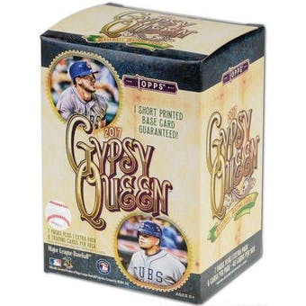 2017 Topps Gypsy Queen Baseball 8-Pack Blaster Box