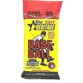 2017 Topps Heritage Baseball Jumbo Pack