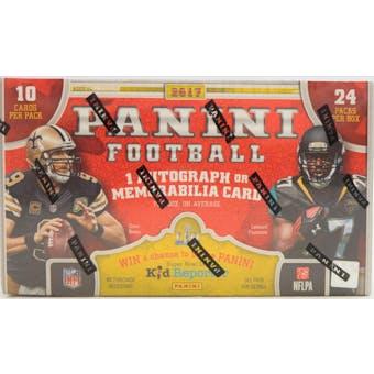 2017 Panini Football 24-Pack Box