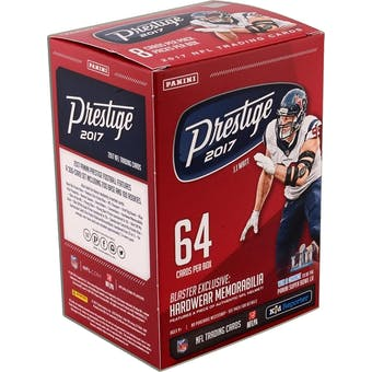 2017 Panini Prestige Football 8-Pack Blaster Box