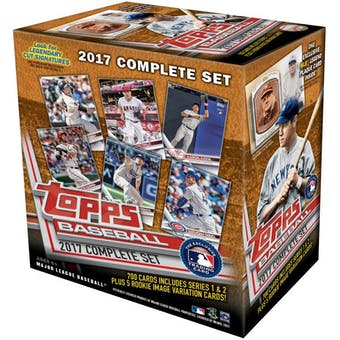 2017 Topps Complete Set Limited Edition Baseball Box