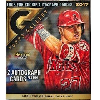2017 Topps Gallery Baseball Hobby Box