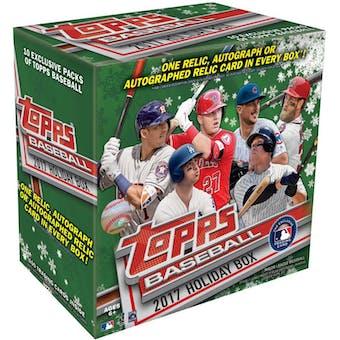 2017 Topps Holiday Baseball Mega Box