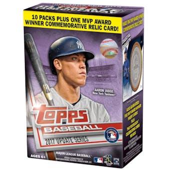 2017 Topps Update Series Baseball 10-Pack Box
