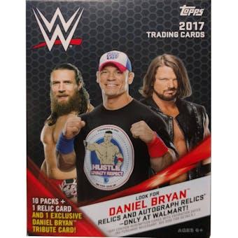 2017 Topps WWE Wrestling 10-Pack Box