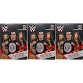 2017 Topps WWE Wrestling 10-Pack Blaster Box (Lot of 3)