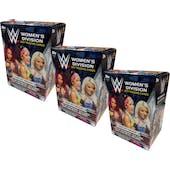 2017 Topps WWE Women's Division Blaster Box (Lot of 3)