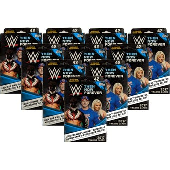 2017 Topps WWE Then Now Forever Hanger Box (Lot of 10)