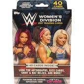 2017 Topps WWE Women's Division Hanger Box