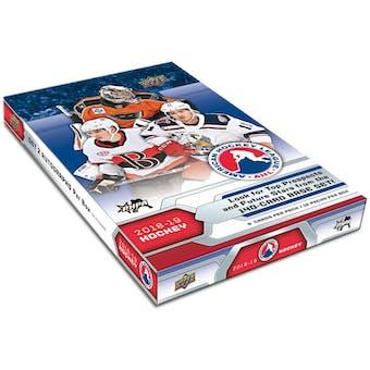2018/19 Upper Deck AHL Hockey Hobby 24-Box Case
