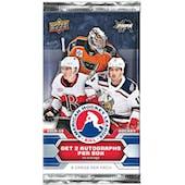 2018/19 Upper Deck AHL Hockey Hobby Pack