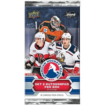 2018/19 Upper Deck AHL Hockey Hobby Pack