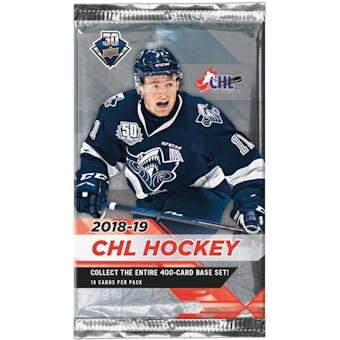 2018/19 Upper Deck CHL Hockey Hobby Pack