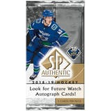 2018/19 Upper Deck SP Authentic Hockey Hobby Pack