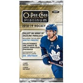 2018/19 Upper Deck O-Pee-Chee Platinum Hockey Hobby Pack