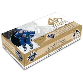 2018/19 Upper Deck SP Authentic Hockey 8-Box Case- DACW Live 31 Team Random Break #10