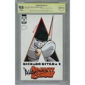 Stabbity Bunny #2 CBCS 9.8 (W) Signed By Richard Rivera & Malcolm Mcdowell *18-1DEC462-018*