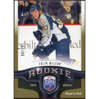 2009/10 Upper Deck Be A Player Player's Club #260 Colin Wilson 8/15