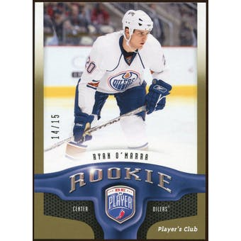 2009/10 Upper Deck Be A Player Player's Club #279 Ryan O'Marra 14/15
