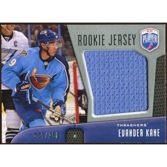 2009/10 Upper Deck Be A Player Rookie Jerseys #RJEK Evander Kane /250