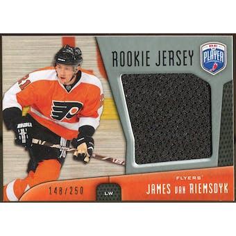 2009/10 Upper Deck Be A Player Rookie Jerseys #RJJV James van Riemsdyk /250