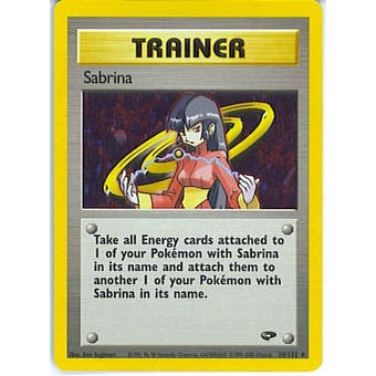 Pokemon Gym Challenge Single Trainer Sabrina 20/132