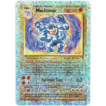Pokemon Legendary Collection Single Machamp 15/110 - Reverse Holo