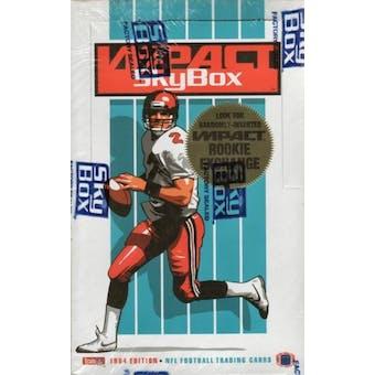 1994 Skybox Impact Football Hobby Box