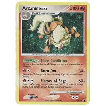 Pokemon Rising Rivals Single Arcanine 1/111