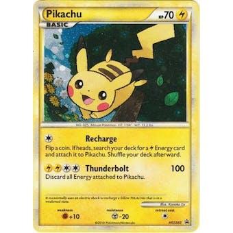 Pokemon Promo Single Pikachu HGSS03