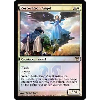 Magic the Gathering Avacyn Restored Single Restoration Angel Prerelease Foil - SLIGHT PLAY (SP)