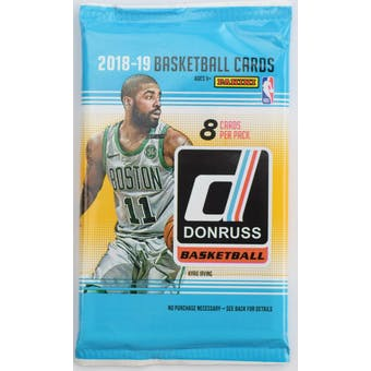 2018/19 Panini Donruss Basketball Retail Pack