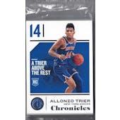 2018/19 Panini Chronicles Basketball 30ct Hanger Pack