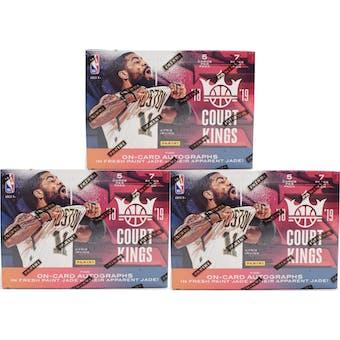 2018/19 Panini Court Kings (AU) Basketball 7-Pack Blaster Box (Lot of 3)